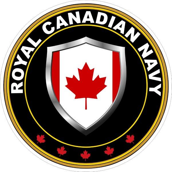 Royal Canadian Navy Decalsbumper Stickerslabels By Miller Concepts