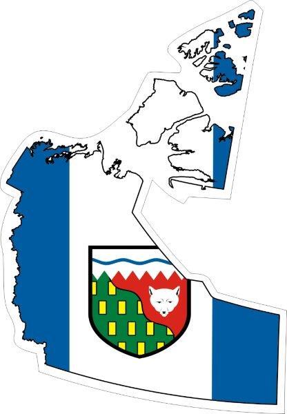 Sticker Cape Breton Map Flag Decal