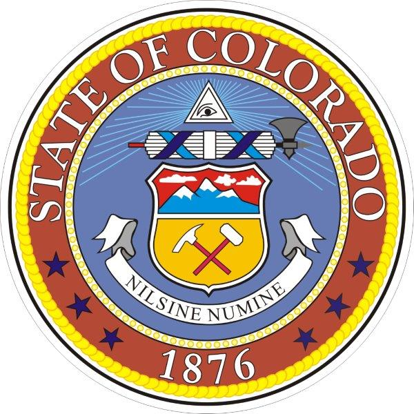 US State Seals (A To I) Decals/Bumper Stickers/Labels By
