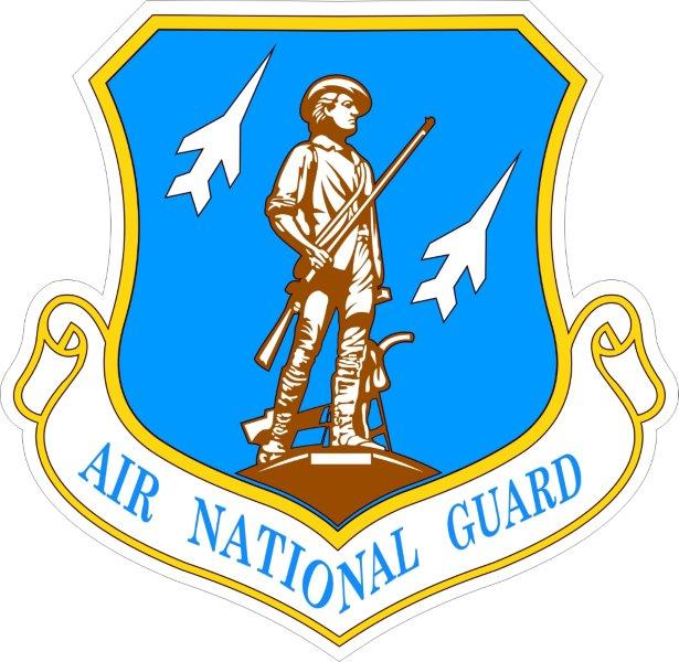 Sticker Air National Guard117th Air Refueling Wing Decal