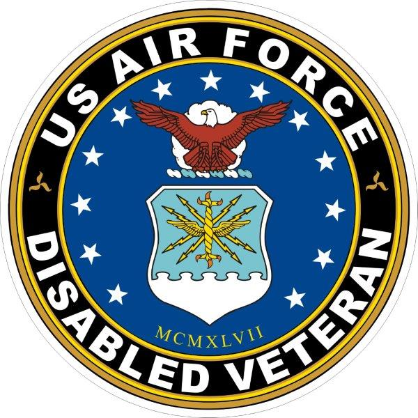 Army Disabled American Veterans Decal U.S Sticker